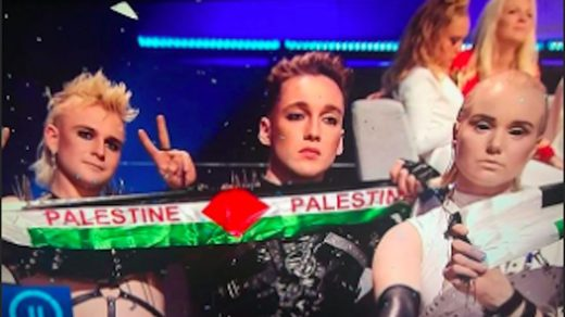 Iceland's Eurovision entry flies Palestinian flag, could be punished say Israeli hosts