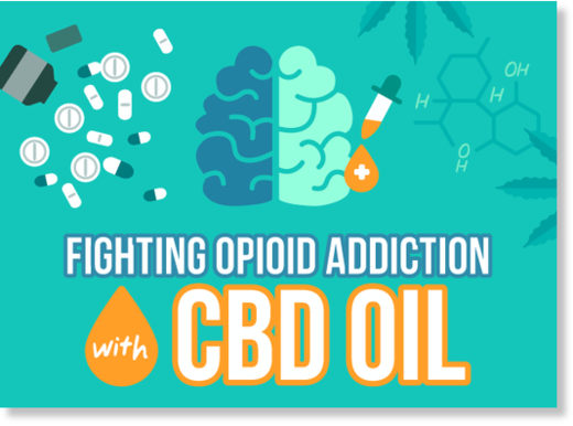 opiod addiction CBD oil