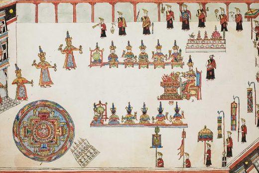 Buddhist Drawing