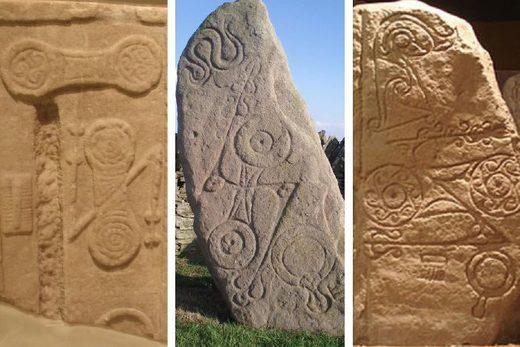 Pictish double disc