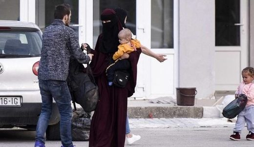 jihadi wife return syria kosovo