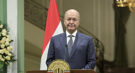 Iraqi President to visit Iran, expand cooperation, offers to mediate amid tensions with US