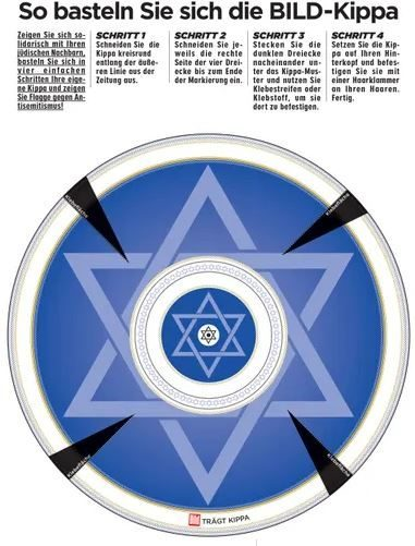 cut-out kippah