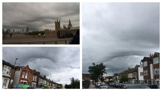 Asperitas clouds over London