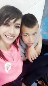 Amina and Mahmoud Salah IDF shot