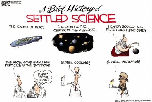 history of climate science cartoon