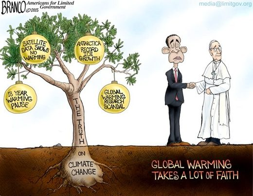 global warming truth cartoon