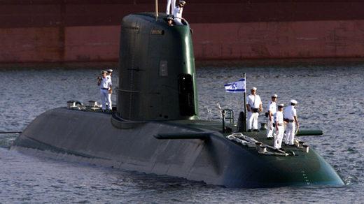 Israel Dolphin-class nuclear submarine