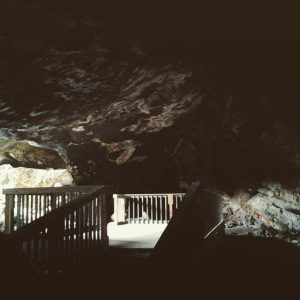 Inside Lovelock Cave