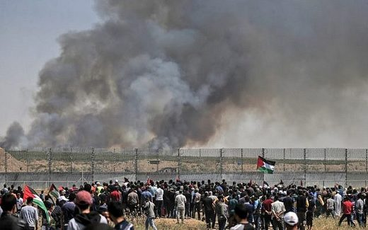 gaza protests border fence march of return