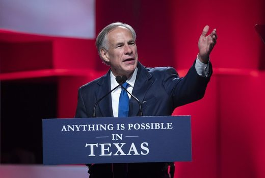Greg Abbott Texas