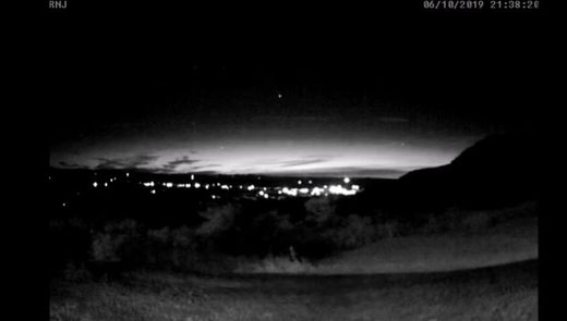 Fireball over the Ozarks, AR