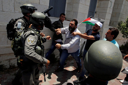 Palestinian Protests West Bank June 23 2019