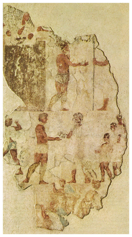Ancient Roman fresco