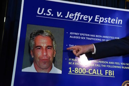 New York charges against Jeffery Epstein