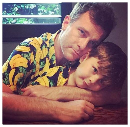 David Campbell and his son Billy