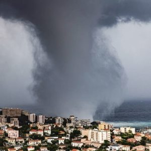 waterspout corsica