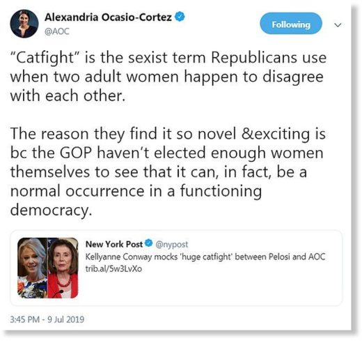 AOC CATFIGHT