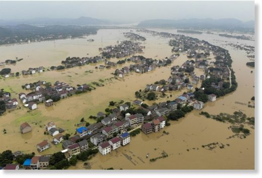 Floods affect 19.91 mln people in China
