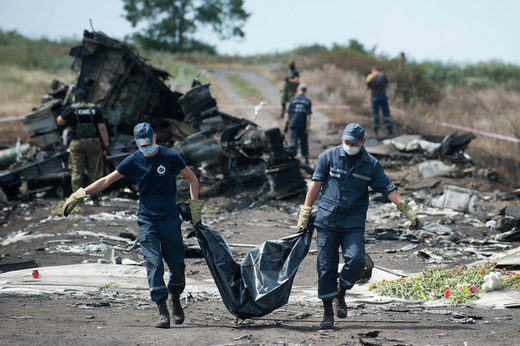 MH17 bodies removal