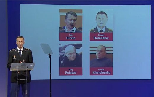 MH 17 suspects