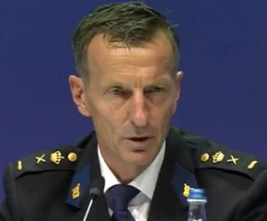 Wilbert Paulissen Head of the National Criminal Investigation Service of the Netherlands MH17