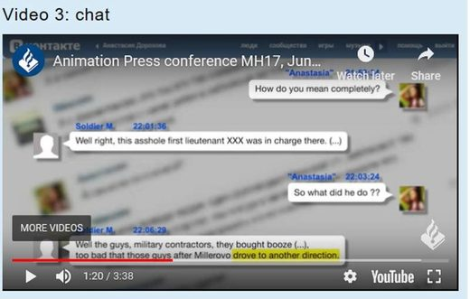 Ukraine wiretape fake MH17