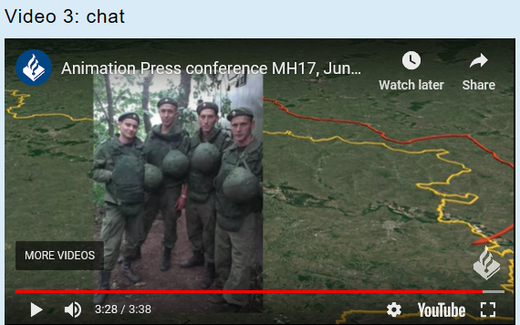 eavesdropped chat MH17 soldier