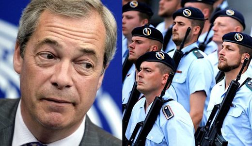 Farage/Franco-German Brigade
