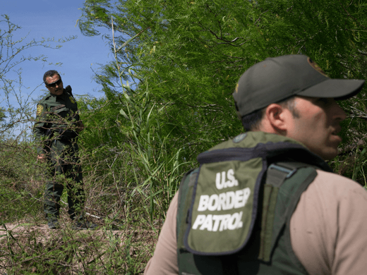 US border patrol migrant immigrant alien