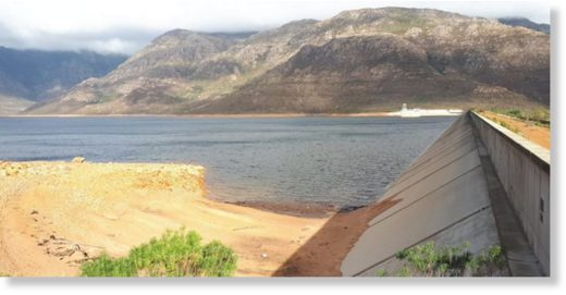Berg River dam, 29 June 2019