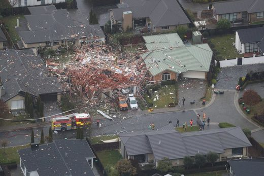christchurch gas explosion