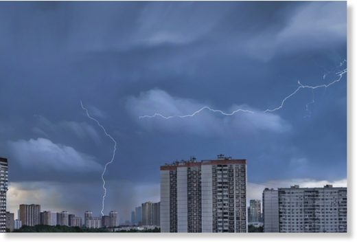Lightning Moscow