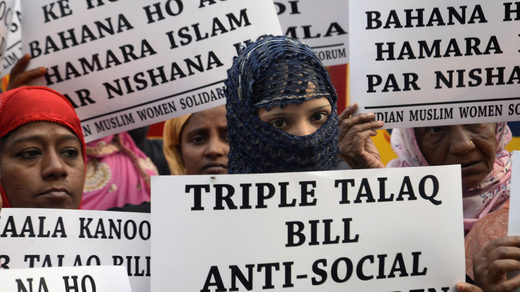 Bill outlawing Muslim 'instant divorce' passes India's lower house of parliament