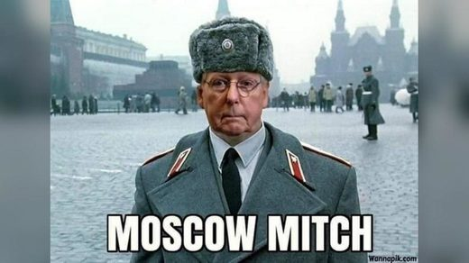meme moscow mitch mcconnell
