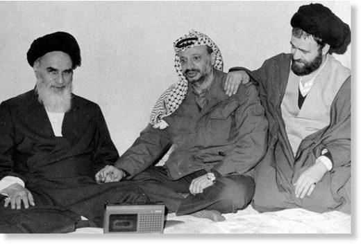 arafat khomenei