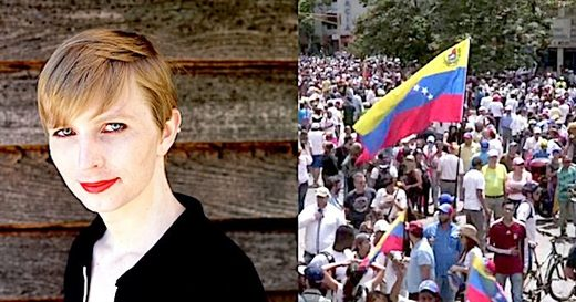 Chelsea Manning/Venezuela