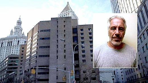 The Metropolitan Correctional Center • Jeffrey Epstein