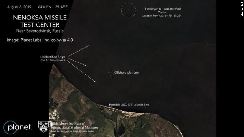 Kremlin dismisses speculation about fatal missile test
