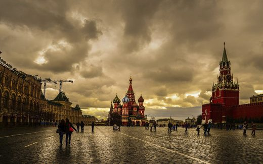 Cloudy Moscow
