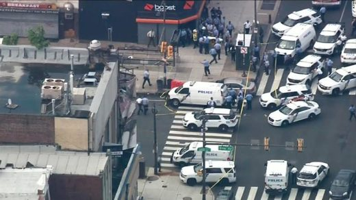 BREAKING: Multiple officers shot in Philadelphia amid massive police response to automatic gunfire