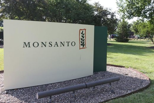 Monsanto sign headquarters