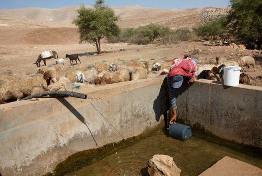 water shortage jordan valley Israel