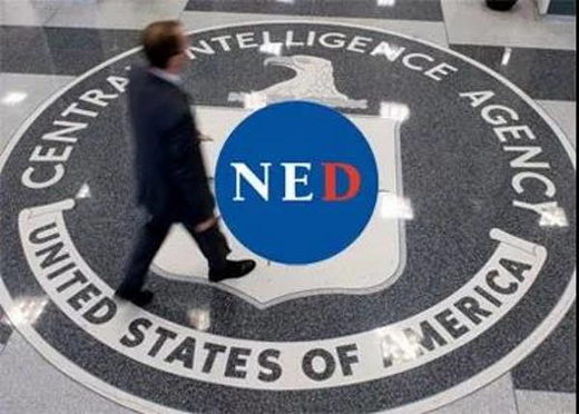 CIA NED national endowment for democracy
