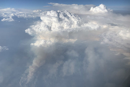 pyrocumulonimbus  wildfire weather clouds