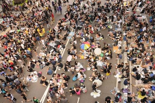 occupy hong kong protest 2014