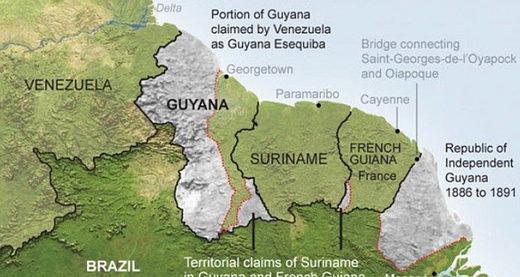 Essequibo Esequibo guyana Venezuela Guaido