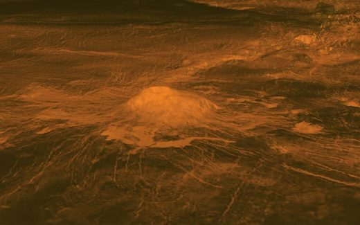The surface of Venus