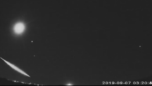 Fireball over San Antonio, TX