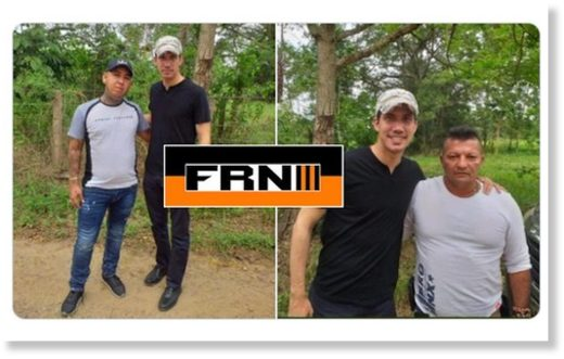 Juan Guaidó took pictures with Colombian narcoparamilitary leaders